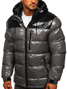 Puffer Jackets, Winter Jackets, Mens Down Jacket, Cyberpunk Fashion, Moncler, Emporio Armani, What To Wear, Style Me, Suits