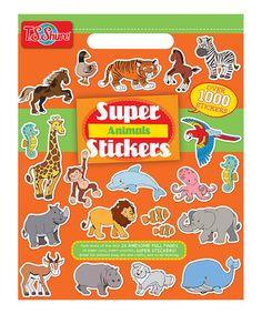 Look what I found on #zulily! Animals Sticker Book by T.S. Shure, $8 !! #zulilyfinds