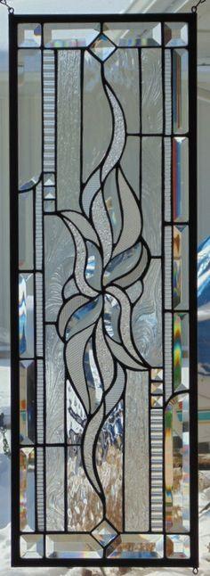 Vitrail fenêtre suspendus par StevesArtGlass sur Etsy
