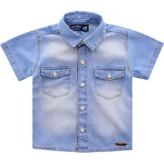 CAMISA JEANS STONED - UP BABY