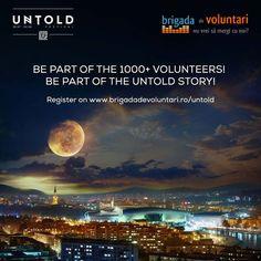 UNTOLD Festival recruteaza voluntari