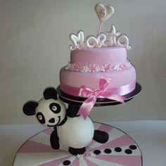 Panda no aniversário da Marta