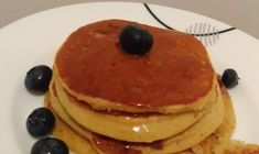 Pancakes, Banana, Breakfast, Recipes, Syrup, Bebe, Morning Coffee, Recipies, Pancake