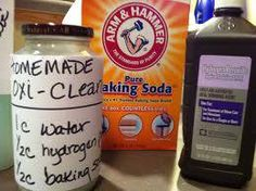 Homemade Oxiclean * #laundry #detergent #diy