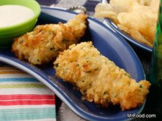 Potato Chip Fish Fillets