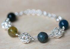 Rannekoru, Hopeatyöt, Hopeakorut, Akaatti, Handmade Jewelry, Bracelet, Silver Jewelry