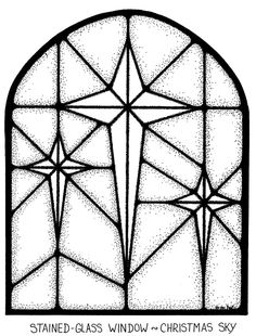 christion stain glass coloring pages | free christmas stained glass with angel coloring page ...
