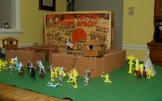 Image result for Louis Marx Tin Forts