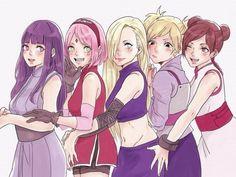 my girls - Hinata Hyūga / Sakura Haruno / Ino Yamanaka / Temari no Sabaku / Ten Ten / Naruto // All rights to the owners Fan Art Naruto, Anime Naruto, Naruto Comic, Naruto And Hinata, Naruto Shippuden Sasuke, Boruto, Sakura And Sasuke, Hinata Hyuga, Sakura Haruno