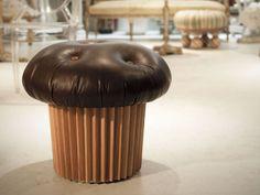Muffin Pouffe by Matteo Bianchi | Design Don't Panic