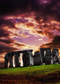The Stonehenge, Wiltshire England