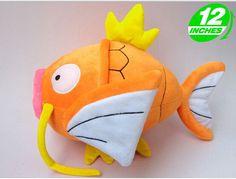 "Japanese Anime Pokemon Plush Toy 12"" Magikarp Plush Doll Soft Stuffed Animals Toy For Cosplay Free Shipping"