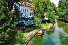 Una river, Bihać, Bosnia and Herzegovina