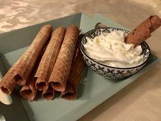 Nieuwjaarsrolletjes glutenvrij (kniepertjes) Gluten Free, Ice Cream, Cheese, Vegan, Ethnic Recipes, Desserts, Food, December, Health