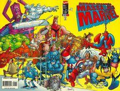 Cover for Sergio Aragonés Massacres Marvel (Marvel, 1996 series) #1