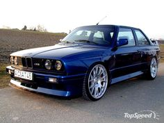 1986 BMW E30 M3 don't judge me i love both foreign and domestic. especially the E30 generation
