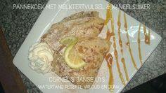 PANNEKOEK/ PLAATKOEKIES/WAFELS/JAFFELS Drink Recipes, Cake Recipes, Cooking Recipes, Pannekoeken Recipe, Cinnabon Cinnamon Rolls, Waffles, Pancakes, Biltong, South African Recipes