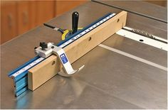 Kreg Table Saw Precision Miter Gauge System Circular Saw Table, Table Saw Miter Gauge, Best Table Saw, Power Hand Tools, Woodworking Jigs, Gauges, Tuscany, A Table, Wood Projects