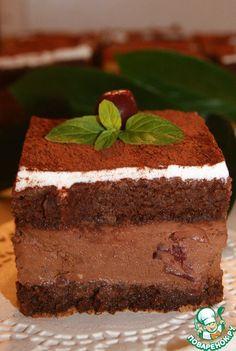 """Пирожное """"Черный лес"""" - кулинарный рецепт"""