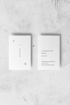 Clementine Business Card Template — The Denizen Co. Business Cards Layout, Vertical Business Cards, Letterpress Business Cards, Minimalist Business Cards, Elegant Business Cards, Best Business Cards, Web Design Mobile, Name Card Design, Bussiness Card