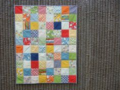 Recess baby quilt | Flickr - Photo Sharing!