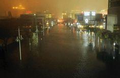 HURRICANE SANDY: Downtown Atlantic City!