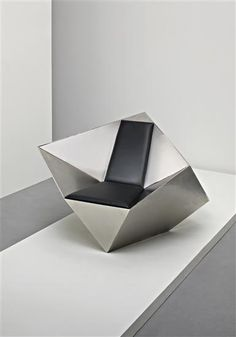 DANIEL LIBESKIND | 'Spirit House' chair, 2007 | Manufactured by Klaus Nienkämper, Canada.  Number 47 from the edition of 100.  Top edge impressed with artist's facsimile signature and 'by/nienkämper/47 / 100'.