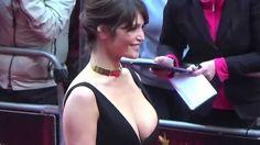 Gemma Arterton's Wardrobe Malfunction - YouTube