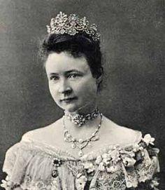Fürstin Bertha zur Lippe, première épouse de Leopold IV