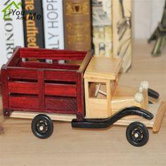 Você E Me Moda Retro Feito À Mão Modelo de Caminhão Engenharia Criativa Artesanato Presente Home Decor(China (Mainland))