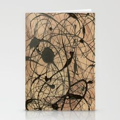 Jackson Pollock Inspired Greeting Cards. Jackson Pollock Inspired Home Decor. Featuring duvet covers, throw pillows and covers, throw blankets, wall tapestries, wall art prints, framed art prints, coffee mugs, and more!