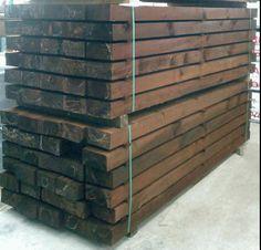 traviesas de madera ecologicas