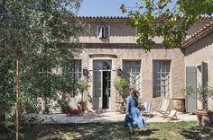 Face sud de cette maison familiale - La maison du bonheur - CôtéMaison.fr