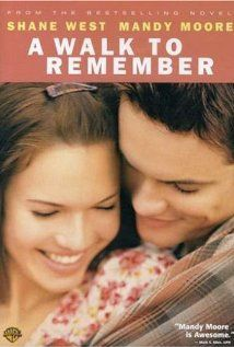 "320 Days-Romantic Films:Till Valentines ...A WALK TO REMEMBER ...was panned by critics for being to sentimental, sweet, sincere, but loved by loyal legion of writer Nicholas Sparks. 'LOVE STORY Ad STRONG CONVICTION OF FAITH'. Rom-Drama that doesn't star a vulgar young comedian. It's High School minus raunchy hi-jinx.  Sad civility is now an aquired taste, but good to know it's out there. QT: ""Our love is like the wind.. I can't see it, but I sure can feel it.  http://www.imdb.com/title/tt0281358"
