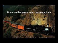 ▶ Cat Stevens - Peace Train (Peace Train lyrics on screen) - YouTube