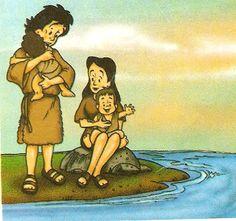 ABENÇOADA DE JESUS: Adão e Eva..