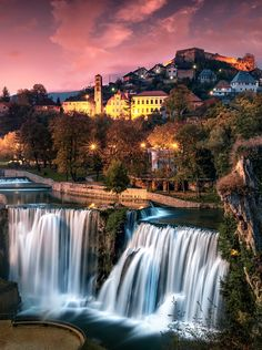 Jajce Waterfalls by Legends of the Fall  - Photo 127118911 - 500px (Bosnia and Herzegovina)