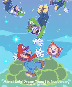 mario and luigi: dream team Super Mario Bros, Super Mario Kunst, Super Mario Games, Super Mario Brothers, Super Smash Bros, Mario Und Luigi, Mario Bros., Mario Party, Metroid