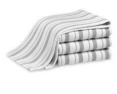 Williams Sonoma Classic Stripe Towels, Set of 4 Williams Sonoma Classic Striped Kitchen Towels – Set of 4 Towel Set, Kitchen Linens, Kitchen Towels, Kitchen Decor, Dish Towels, Tea Towels, Hand Towels, Pottery Barn Kitchen, Cooking