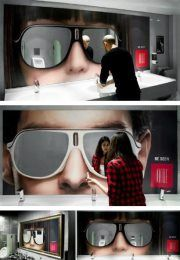 adesivo e espelho