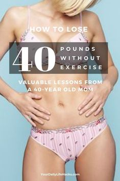 Weight Loss Plan That Actually Works - 40 Year Old Mom Loses 10 Pounds in 7 Days Without Starving or Exercising - Your Daily Life Hacks Weight Loss Plans, Weight Loss Program, Best Weight Loss, Healthy Weight Loss, Weight Loss Tips, Start Losing Weight, Want To Lose Weight, Daily Life Hacks, Lose Weight Naturally