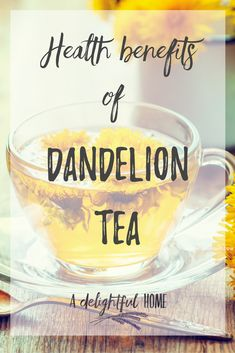 Healthy drink Benefits Of - Drink Comforting Dandelion Tea for Awesome Health Benefits. Infused Water Recipes, Fruit Infused Water, Health Benefits, Health Tips, Dandelion Benefits, How To Brew Kombucha, Healthy Drinks, Healthy Food, Healthy Recipes