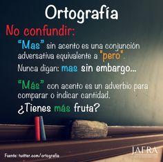 «más» vs. «mas»