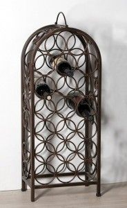 Casablanca Design Weinflaschenständer 'Duro', 83 x 35 cm, rusty Casablanca, Designer, Mirror, Furniture, Material, Home Decor, The Godfather, Hang In There, Dekoration