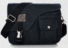 Men-Canvas-Vintage-School-Satchel-Messenger-Military-Leather-Shoulder-Bags
