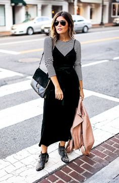 Pictured: Who What Wear Velvet Wrap Slide Dress ($35) According to Azani, if there's one item you should be wearing this season, it should be a slip dress—specifically a velvet...