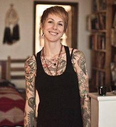P.INK Day 2013 artist: Virginia Elwood - Saved Tattoo - Brooklyn, New York http://www.virginiaelwood.com/ [p-ink.org]
