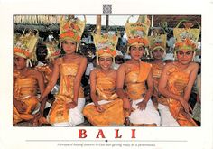 INDONESIA (Lesser Sunda) - Rejang Dance - part of Three genres of traditional dance in Bali (UNESCO ICH)