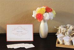 DIY Crepe Paper Hair Flowers