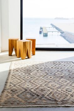 The Natural Kelims collection is a handwoven traditional kelims in high quality Afghan wool. Available in many different colours and sizes. Light Colors, Colours, Natural Rug, Unique Rugs, Augmented Reality, Handmade Rugs, Brown And Grey, Sustainability, Furniture Design